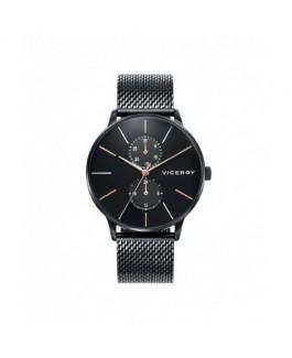 Viceroy 46753-57 Reloj Hombre Cuarzo Acero IP negro Malla Tamaño 41 mm - 46753-57