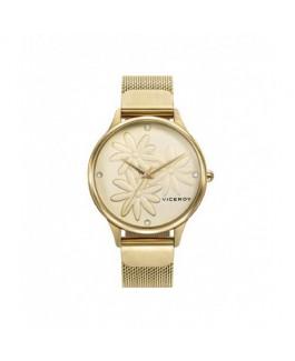 Viceroy 461120-97 Reloj Mujer Cuarzo Acero IP Dorado Tamaño 35 mm Malla Milanesa - 461120-97