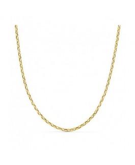 Cadena Mujer Oro 18 ktes Forsa Ligera Peso 1,70 gr Grosor 1 mm Medida 40 cm - 000022565