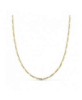 Cadena Mujer Oro 18 ktes Programada Ligera Grosor 1 mm Medida 50 cm - 000022690