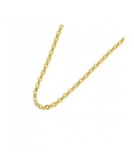 Cadena Mujer  Oro 18 ktes Forsa Ligera Grosor 1,5 mm  Medida 50 cm - 000262182