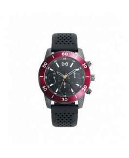 Mark Maddox HC7125-56 Reloj Hombre Cuarzo  MUltifunción Acero IP Gris Alumnio Tamaño 43 mm Caucho - HC7125-56