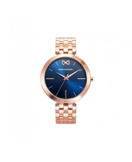 Mark Maddox MM0107-37 Reloj Mujer Cuarzo Acero IP Rosé Tamaño 37 mm Brazalete - MM0107-37