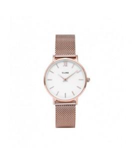 Cluse CW0101203001 Reloj Mujer Cuarzo Acero Ip Rosé Tamaño 33 mm - CW0101203001