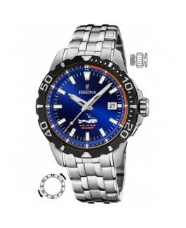 Festina F20461/1 Reloj Hombre Cuarzo Acero Tamaño 43 mm - F20461/1