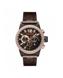 Police R1471607004 Reloj Hombre Cuarzo Acero Tamaño 45 mm Correa - R1471607004
