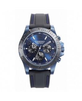 Viceroy 471205-35 Reloj Hombre Cuarzo Acero IP Aluminio Tamaño 43 mm Correa Caucho - 471205-35