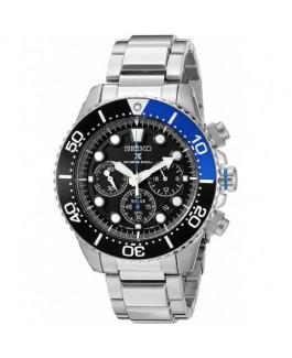 Seiko Prospex Solar SSC017P1 Reloj Hombre Crono Acero Tamaño 43 mm Brazalete - SSC017P1