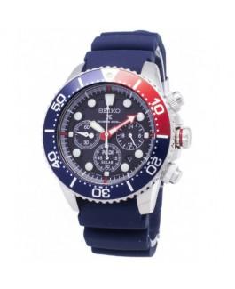 Seiko Prospex SSC663P1 PADI Reloj Hombre Cuarzo Crono Acero Tamaño 43 mm Caucho Azul - SSC663P1