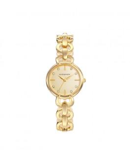 Viceroy 461038-97 Reloj Mujer Cuarzo Acero IP Dorado Tamaño 27 mm Brazalete - 461038-97