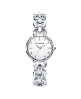 Viceroy 461038-07 Reloj de Mujer Acero Cuarzo Brazalete Circonitas Tamaño 27 mm - 461038-07