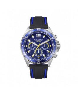 Viceroy 46803-35 Reloj Hombre Cuarzo Crono Acero Caucho Tamaño 43 mm - 46803-35