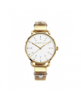 Viceroy 42354-07 Reloj Mujer Tamaño 32 mm Cuarzo Acero IP Dorado Malla - 42354-07