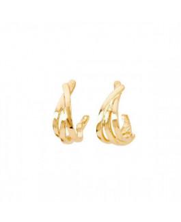 Uno de 50 PEN0697ORO0000U Nihiwatu Beach Pendientes Mujer Chapado Oro Tamaño 12 x 35 mm - 000500632
