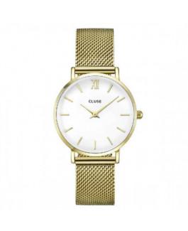 Cluse CW0101203007 Reloj Mujer Cuarzo Acero Dorado Tamaño 33 mm - CW0101203007