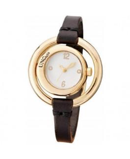 Uno de 50 REL0143BLNMAR0U Time after time Reloj Mujer Chapado Oro Cuarzo Cuero Marrón Tamaño 38 mm - 000500108