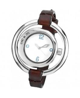 Uno de 50 REL0139BLNMAR0U A TIEMPO Reloj Mujer Baño de plata Tamaño 44 mm - 000500415