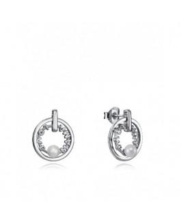 Viceroy Jewels 4127E000-68 Pendientes Mamá Mujer Plata Perlas Tamaño 14 mm - 000750141