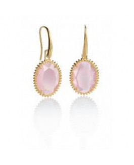 Viceroy Jewels 1193E100-47 Pendientes Mujer Plata Ip Rosé Cuarzos - 000750043