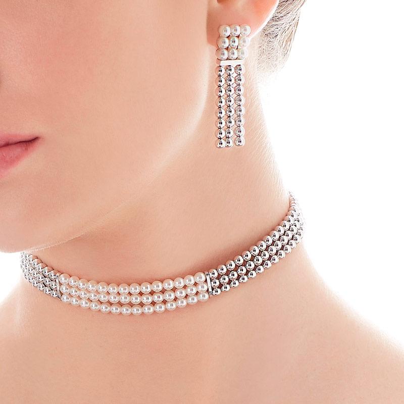 Joyas con perlas para eventos